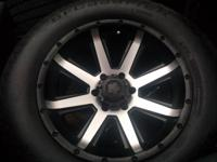 "Ultra crusher wheels 18"" 6x5.5 toyota/chevy others"