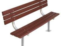 The UltraPlay 940 series park bench with back has