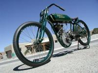 Ultra rare Harley Davidson factory built racer with a