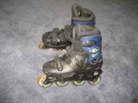 Rollerblades are Mens size 8 but could be used by