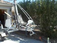1980's Soma gyrocopter. 503 rotax engine w/ twin mags.