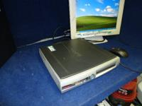 Sub-budget friendly Compaq EVO Ultra Slim desktop