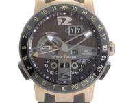 Retail Price:: $55,500.00 Ulysse Nardin combined the