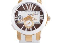 This Ulysse Nardin Executive Dual Time ladies timepiece