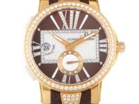 This Ulysse Nardin Executive Dual Time ladies timepiece