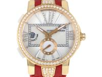 This is an enchanting luxury timepiece from Ulysse