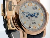Ulysse Nardin GMT Perpetual 18k Rose Gold Mens