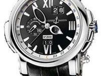 This Ulysse Nardin GMT +/- Perpetual Mens Watch,