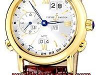 This Ulysse Nardin GMT  Perpetual watch in yellow gold