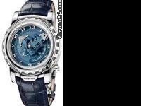 This Ulysse Nardin GMT +/- Perpetual Mens Watch, 322-66