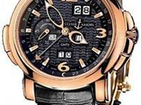 This Ulysse Nardin GMT Perpetual Mens Watch, 326-60-62