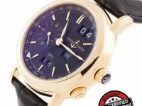 This is a Ulysse Nardin, GMT Perpetual Ref. 326-22/92 -