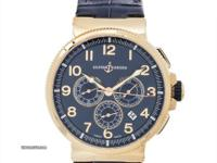 Pre-Owned Ulysse Nardin Marine Chronograph (150615063)