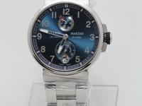 RETAIL PRICE: 11300 USD Polished stainless steel case.