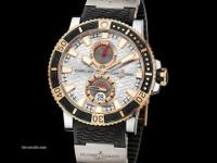 This Ulysse Nardin Maxi Marine Diver Mens Watch,