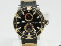 This is a Ulysse Nardin, Marine Diver 265-90 for sale