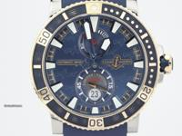 This is a Ulysse Nardin, Marine Diver Hammer Head