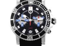 The Maxi Matine Diver Chronograph has a sporty sort of