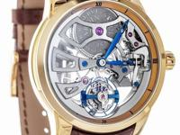 Ulysse Nardin Skeleton Tourbillon 18k Rose Gold 44mm