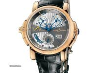 676-88/212 Ulysse Nardin This watch has 42 mm Red Gold