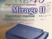 "UMAX Mirage II Color Scanner 11.4"" x 17"" A3 paper size"