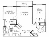 Description Bedrooms: 2 Bathrooms: 2 Community The Cove