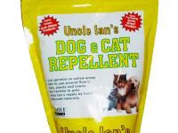 Uncle Ian's 35 oz. Dog and Cat Repellent has a natural,