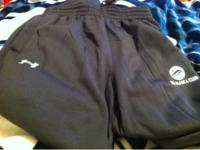 UNDER ARMOUR sweat pants. They are grey size medium.