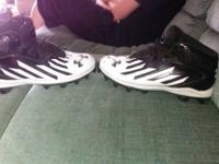 I'm selling my sons football cleats he's 13 today they