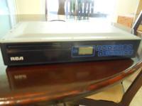 RCA Under-Cabinet Mount CD & AM/FM Radio Player-$15