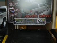 Tonneau FLEX. Black.  Ultra low profile design. Allows