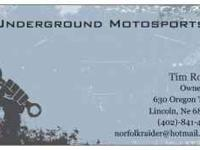 UnderGround Motosports is ready to tune-up your