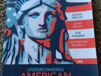 This is the paperback textbook Understanding American