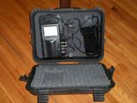 Aqua-Vu MC2X underwater camera with hardcase. Can be