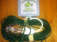 We will install Underwater Green Fishing Lights for