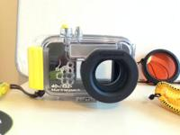 SONY DSC-W90 Camera with Marine Pac Underwater Housing