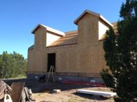 Unfinished Vacation Home with 10 Acres, near Seligman,