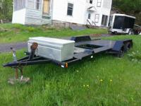 For sale a 18 foot (deck) Unger car trailer, have slide
