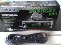 "This is a New ""Uniden BearCat 880"" 40-Channel CB Radio"