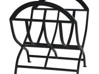 Featuring a popular black wrought iron finish, this