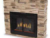 Our model EF700SP electric fireplace looks like real