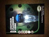 uniform plumbing code 2006 book for sale. price is