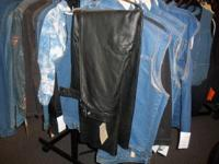 Big Selection of different Chaps, Call up or stop in