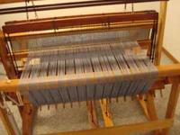 2 Harness Union Loom with shuttles Warped and ready to