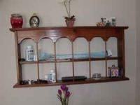 ONE OF A KIND COUNTRY SHELF DESIGNED BY ME SEVERAL
