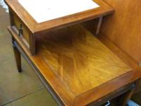 This end table has a great structure with many designs