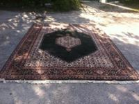 One-of-a-kind Hand Made Large Location Carpet $699. 8'