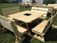 "See more information at ""Delmarva Picnic Tables"" on"