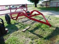 "Unique Used ""tumblebug"" 1 bale Hay Hauler, Antique,"