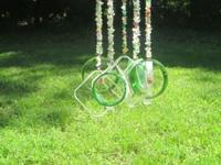 One of a kind hand made wind chimes. Each are made from